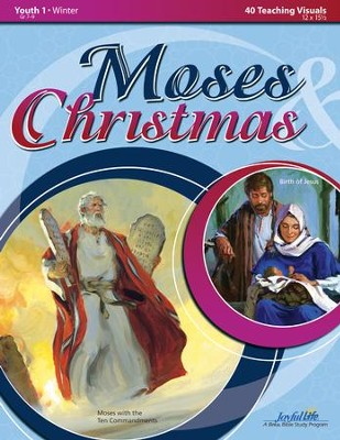Moses & Christmas Youth 1 (Grades 7-9) Teaching  Visuals  -