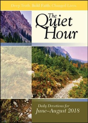 Bible-in-Life: The Quiet Hour (Devotional Guide), Summer 2018  -