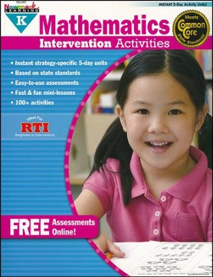 Mathematics Intervention Activities Grade K  -