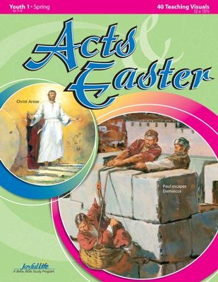 Acts & Easter Youth 1 (Grades 7-9) Teaching Visuals   -