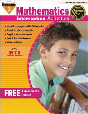 Mathematics Intervention Activities Grade 3  -
