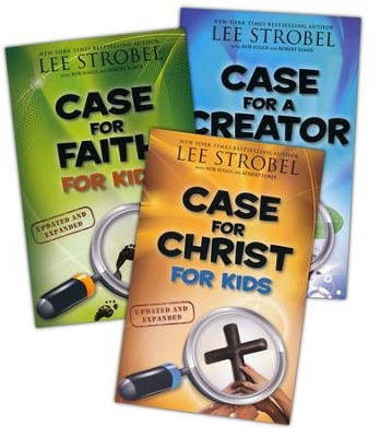 The Case for Kids Series: Faith, Creator, and Christ - 3 Books    -     By: Lee Strobel