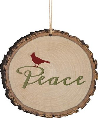 Peace Ornament  -