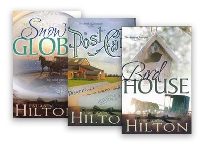 The Amish of Jamesport Series, Volumes 1-3  -     By: Laura V. Hilton