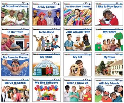 Sight Word Readers Social Studies Set (set of 16 titles)  -