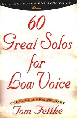 60 Great Solos for Low Voice   -