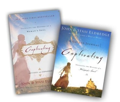 Captivating softcover/Guided Journal, 2 Volumes  -     By: John Eldredge, Stasi Eldredge