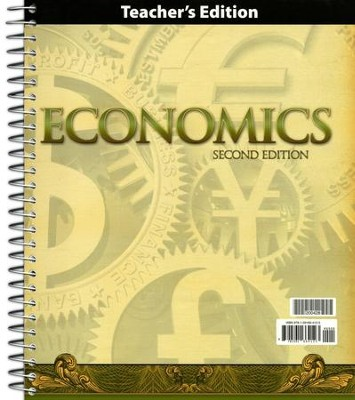 BJU Heritage Studies Grade 12 (Economics) Teacher's Edition  (Second Edition)  -