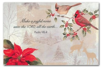 Make a Joyful Noise Christmas Cards, Box of 20  Make a Joyful Noise unto the Lord  -     By: Sandy Clough
