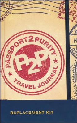Passport2Purity Travel Journal Replacement Kit   -     By: Dennis Rainey, Barbara Rainey