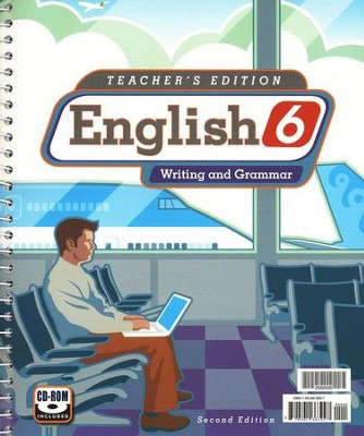 BJU English Grade 6 Teacher's Guide Second Edition    -