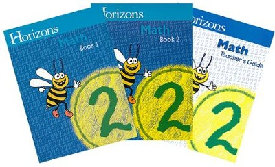 Horizons Math, Grade 2, Complete Set   -     By: Alpha Omega