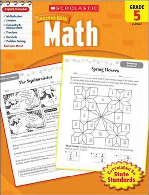 Scholastic Success with Math, Grade 5  -