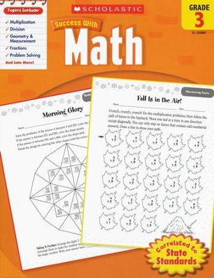 Scholastic Success with Math, Grade 3  -