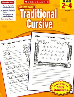 Scholastic Success with Traditional Cursive, Grades 2-4  -