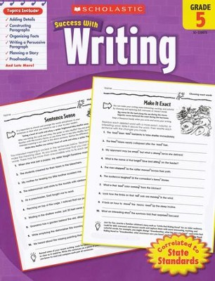 Scholastic Success with Writing, Grade 5  -