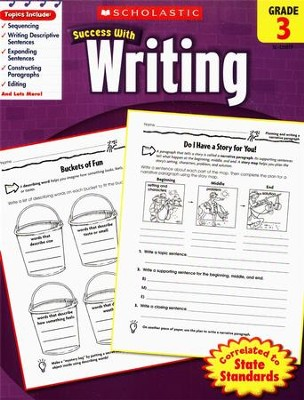 Scholastic Success with Writing, Grade 3  -