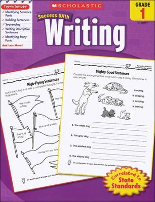 Scholastic Success with Writing, Grade 1  -