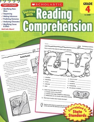 Scholastic Success with Reading Comprehension, Grade 4  -