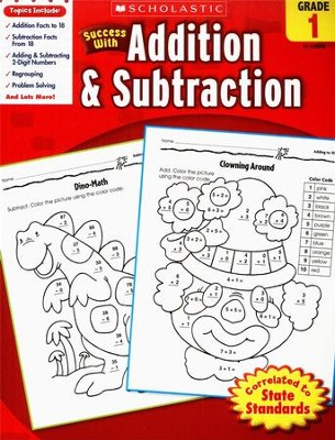 Scholastic Success with Addition & Subtraction, Grade 1  -