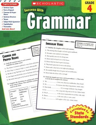 Scholastic Success With Grammar, Grade 4  -