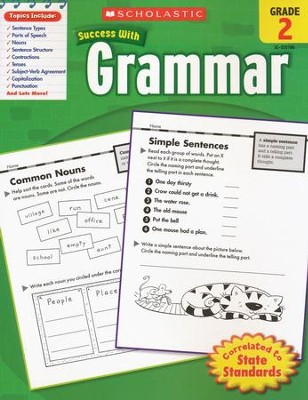 Scholastic Success With Grammar, Grade 2  -