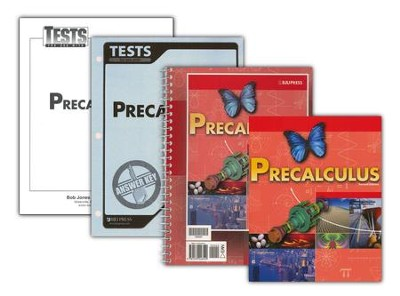 BJU Math 12: Pre-Calculus Homeschool Kit   -