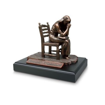 Moments of Faith Praying Woman Sculpture   -