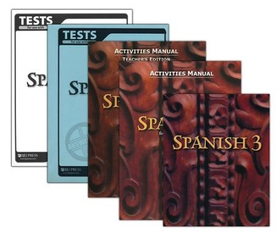 BJU Spanish 3, Homeschool Kit    -