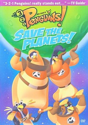 Save the Planets! 3-2-1 Penguins! #7, DVD   -