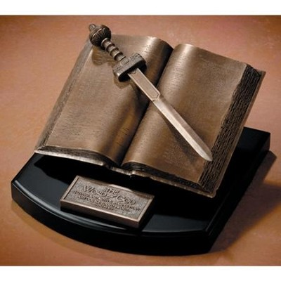 The Word of God-Bible Sculpture   -