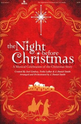 The Night Before Christmas (Choral Book)   -