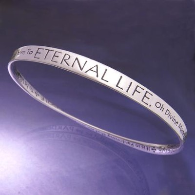 Sterling Silver Mobius Bracelet; St Francis Prayer Part 2   -
