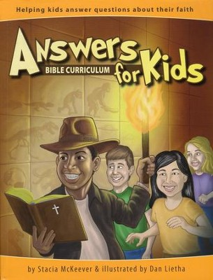 Answers for Kids, Bible Curriculum Set  (Teacher's Guide, Student Handouts & DVD-ROM)  -