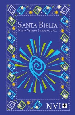 NVI Outreach Bible, Blue Fiesta  -     By: Biblica