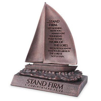 Stand Firm, Sailboat Sculpture, Small  -