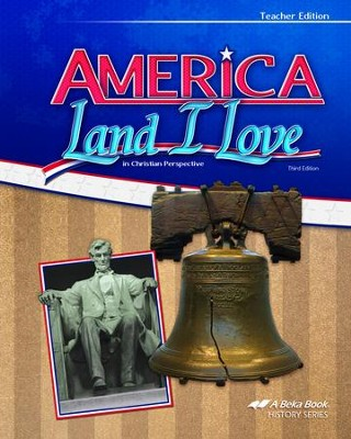 Abeka America: Land I Love in Christian Perspective Teacher  Edition (Updated Edition)  -