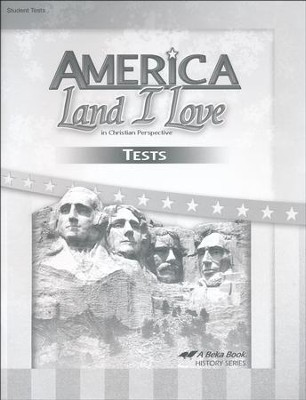 Abeka America: Land I Love Tests (Updated Edition)   -