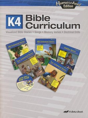 Abeka Homeschool K4 Bible Curriculum   -