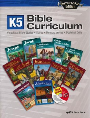 Abeka Homeschool K5 Bible Curriculum Lesson Guide   -