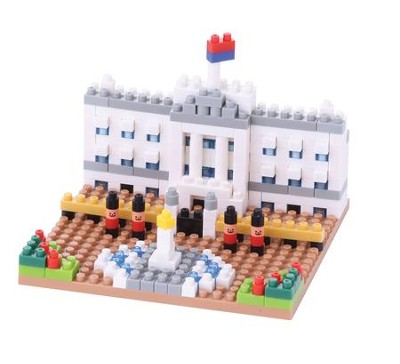 Nanoblock Sights To See, Buckingham Palace   -
