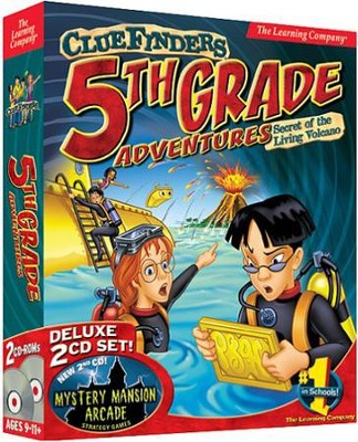 ClueFinders 5th Grade Adventures on CD-Rom (for Windows & Macintosh)  -