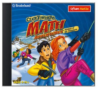 ClueFinders Math Adventures on CD-Rom (for Windows & Macintosh)  -