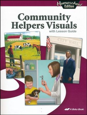 Abeka Homeschool Community Helpers Visuals   -