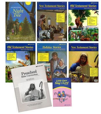 Abeka Homeschool Preschool Bible Kit (Two- and Three-Year-Old Kit)    -