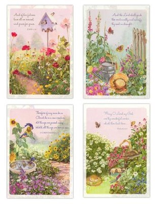 Peaceful Gardens Blank Cards, Box of 12  -