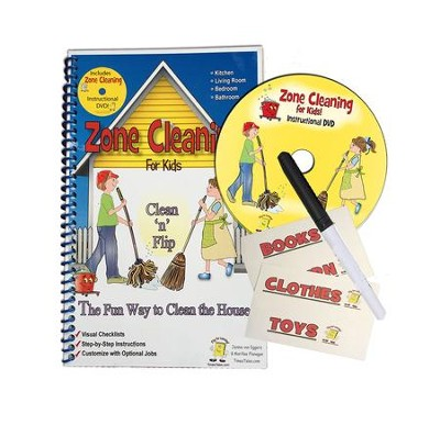 Zone Cleaning for Kids   -     By: Jennie Von Eggers, M.J. Flanagan, Dena Wood