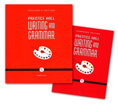 Prentice Hall: Writing and Grammar 8th Grade  Homeschool Bundle  -