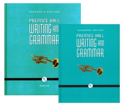 Prentice Hall: Writing and Grammar 9th Grade Homeschool Bundle  -