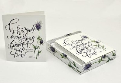 Everything Beautiful Boxed Cards, Ecclesiastes 3:11  -     By: Ruth Chou Simons